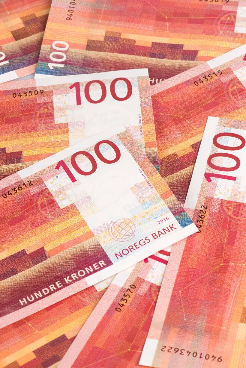 Noruega estrena billetes con diseño pixelado 11