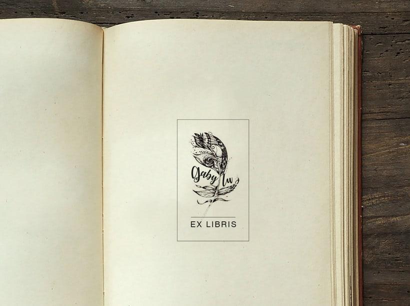Ilustración. Ex Libris 0