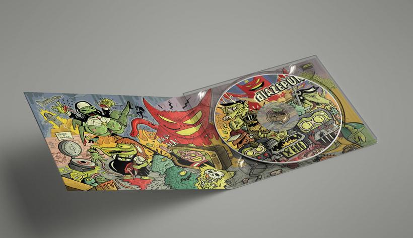 Diazepunk - Arte 5to disco 0