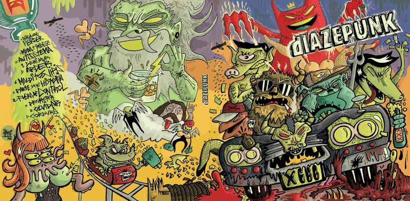 Diazepunk - Arte 5to disco 2