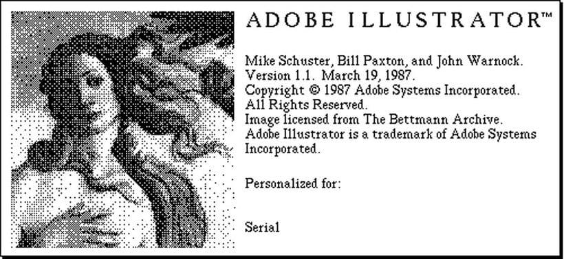Se cumplen 30 años del lanzamiento de Illustrator 6