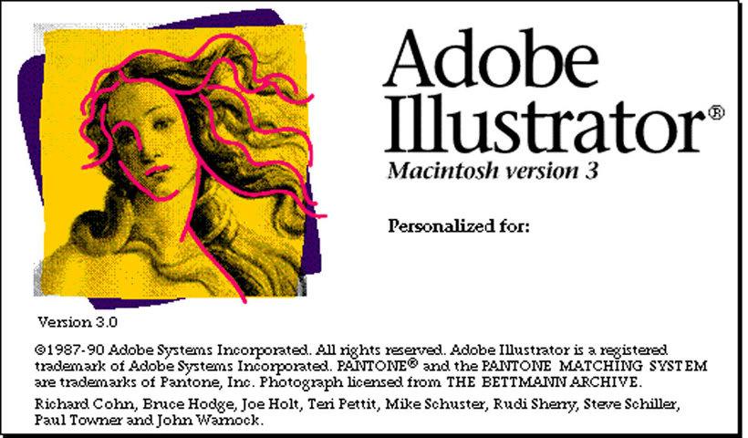 Se cumplen 30 años del lanzamiento de Illustrator 7