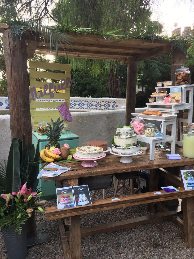 Diseño y construcción de stand en Wedding Market  -1