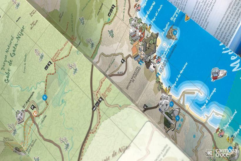 Diseño e ilustración de mapa turístico 2