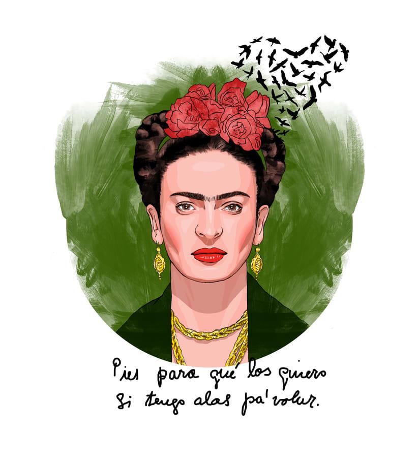 Frida Kahlo: Pies para qué los quiero si tengo alas pa'volar. 0