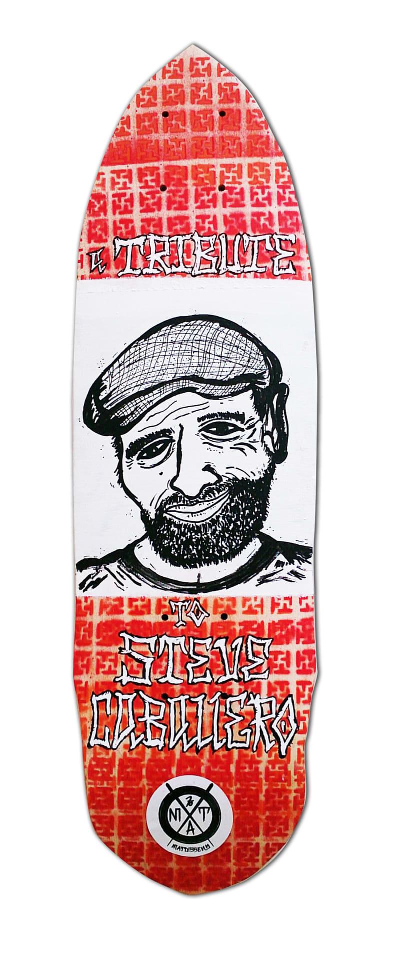 Skateboard • Steve Caballero Tribute #SkateArt -1