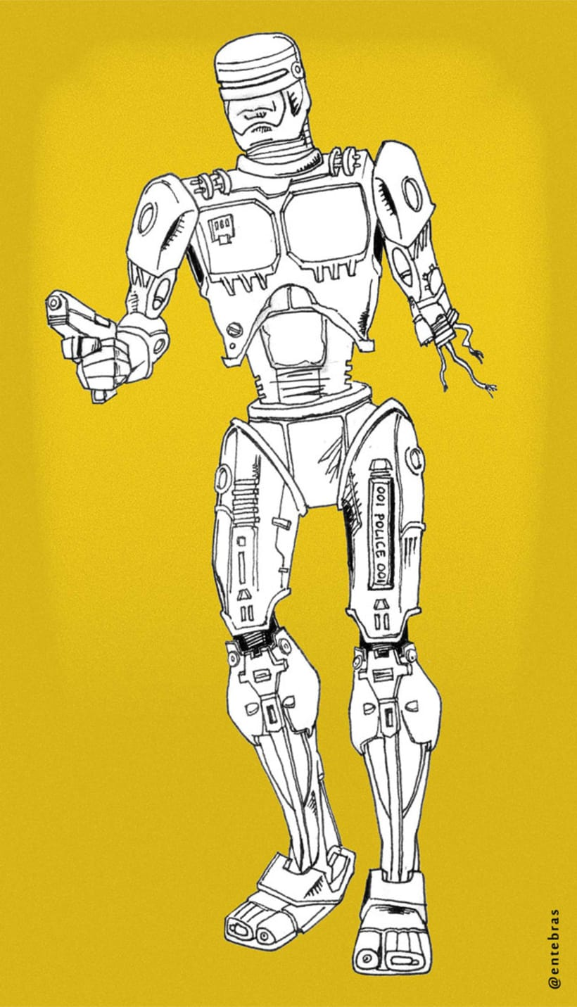 Robocop and Terminator Tribute 0