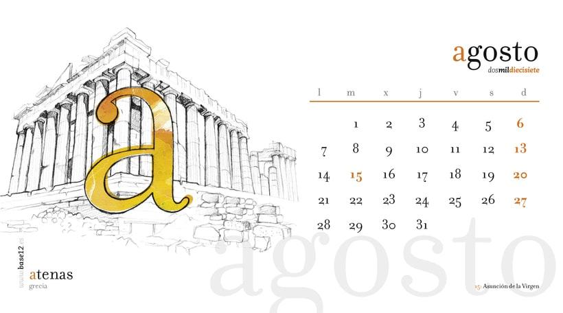 Calendario 2017 8