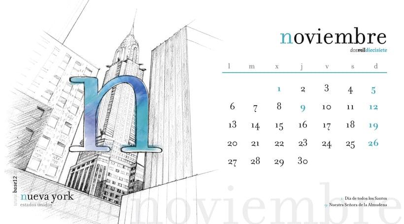 Calendario 2017 11