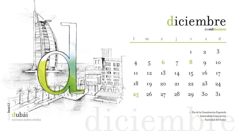 Calendario 2017 12