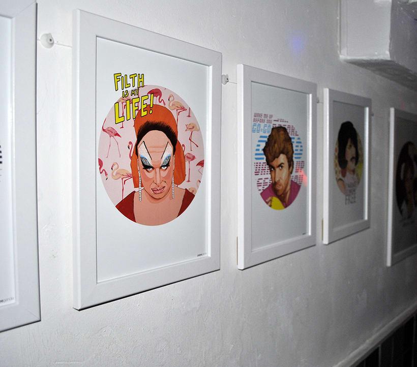 ICONIC: Retratos ilustrados personalizados de iconos famosos. 11