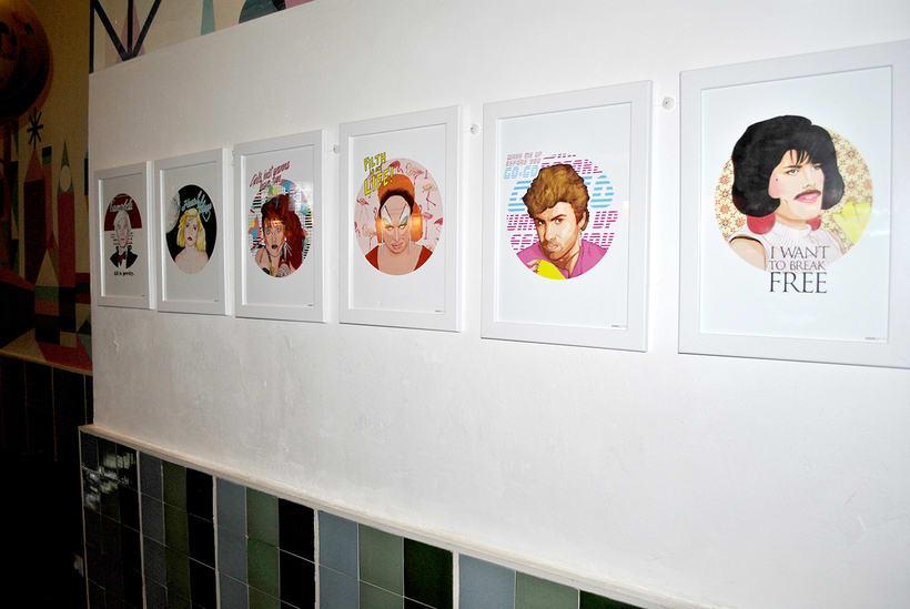 ICONIC: Retratos ilustrados personalizados de iconos famosos. 12