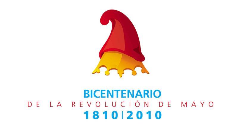 Logo Bicentenario revolución de mayo - Argentina -1
