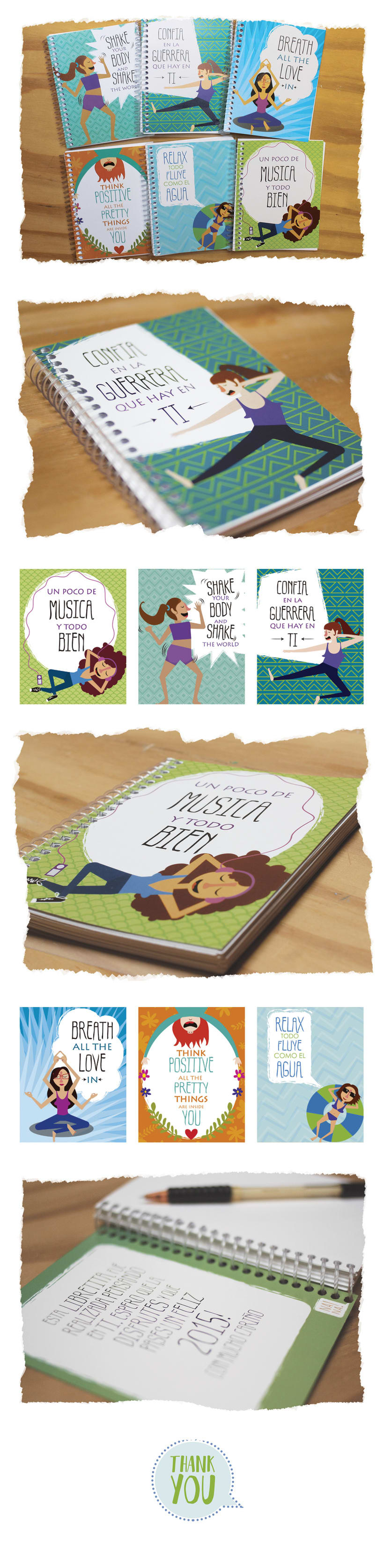 Libretas 2015 | Notebooks 2015 -1