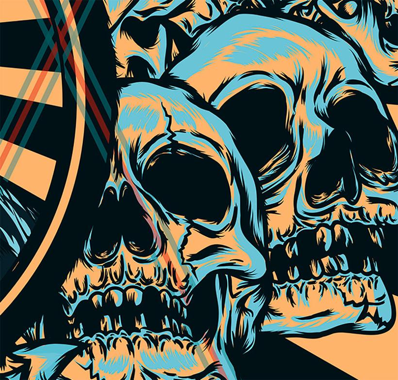 Frida kahlo Psychedelic 3