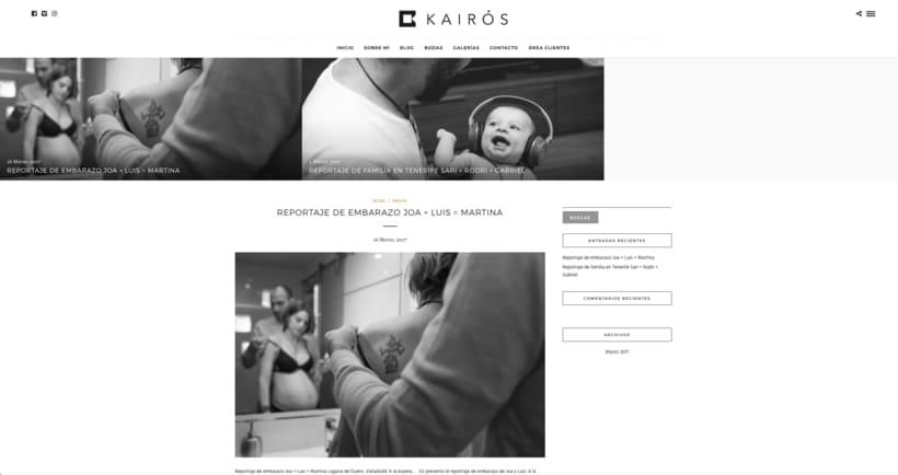 www.kairosfoto.com, web de fotografía. 2
