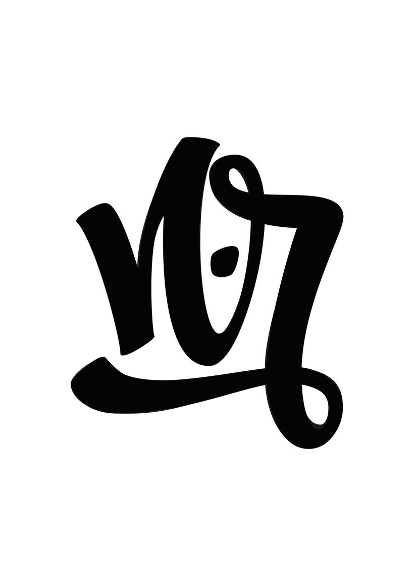Mi Proyecto del curso: Diseño de monogramas con estilo |N.R 3