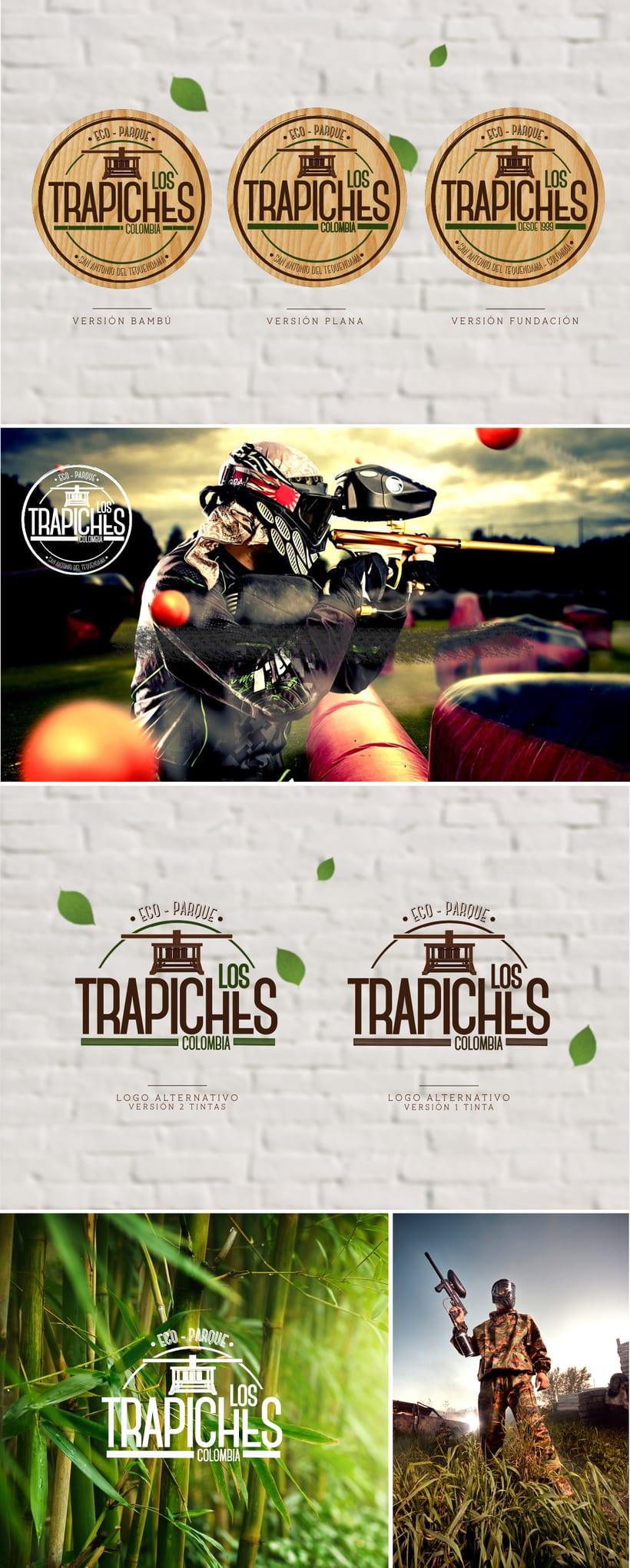Logotipo. Ecoparque Los Trapiches 0