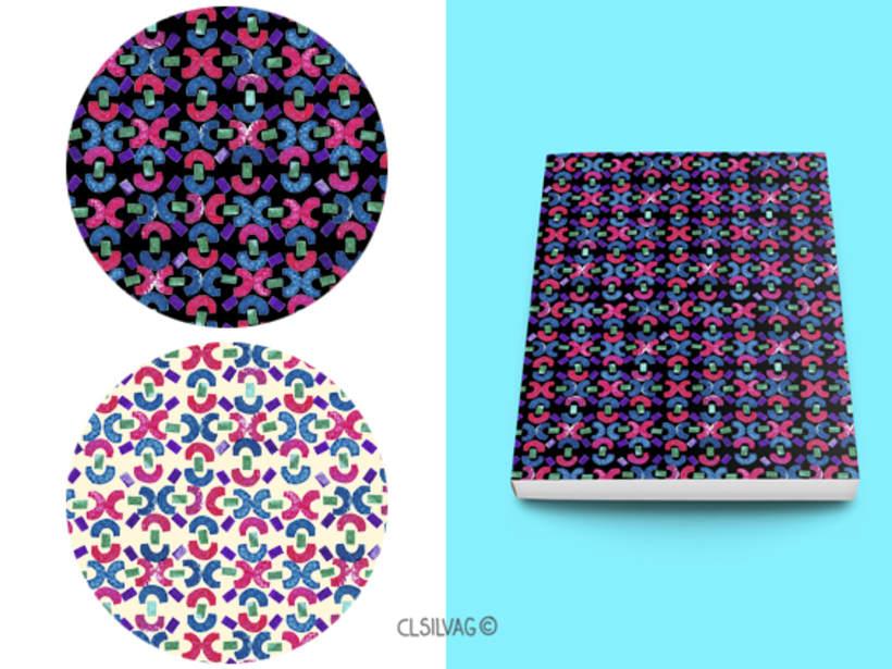 Mi Proyecto del curso: Diseño de estampados textiles - SELLOS 6