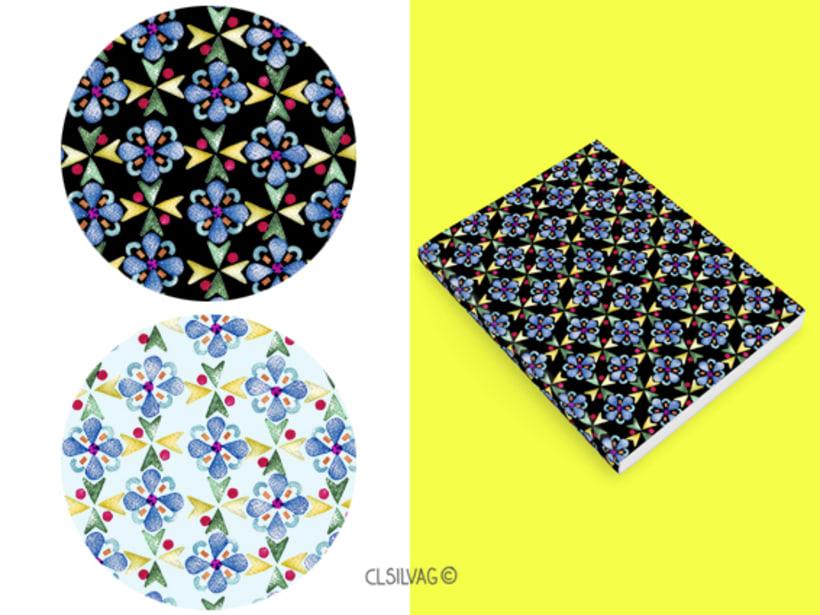 Mi Proyecto del curso: Diseño de estampados textiles - SELLOS 10
