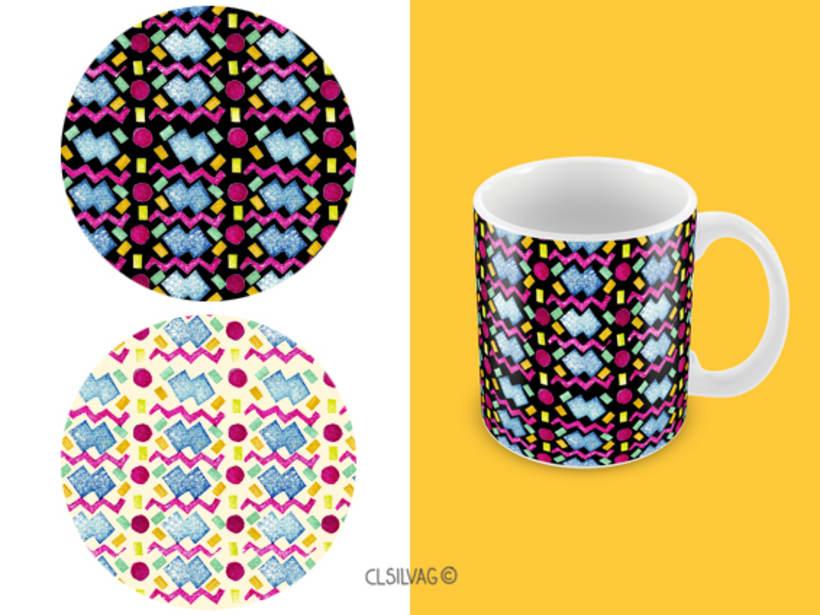 Mi Proyecto del curso: Diseño de estampados textiles - SELLOS 14