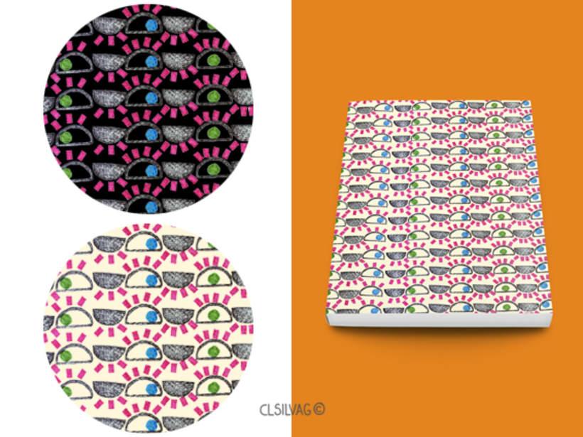 Mi Proyecto del curso: Diseño de estampados textiles - SELLOS 20