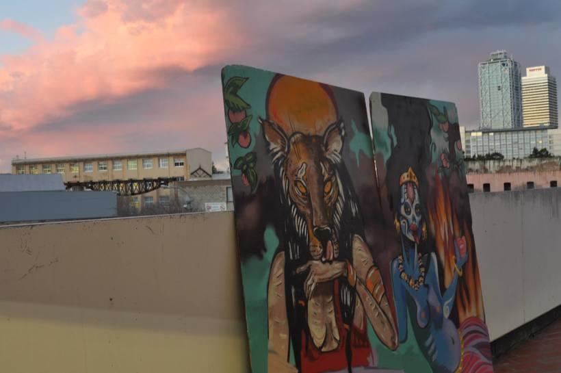 ART I DONA INcorporAR. ( EXposició col.lectiva Centre Cívic Barceloneta 8deMarç. Dona TReballadora. Mujeres DE ESAS. 2015) 5
