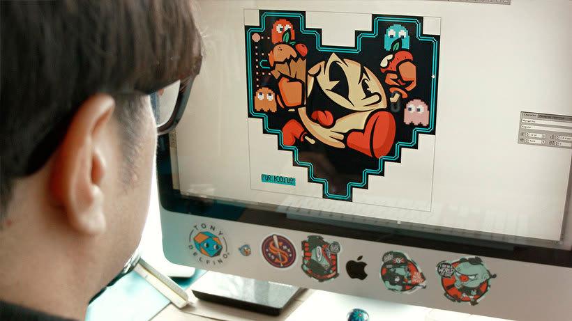 Ilustrando en analógico y digital con Mr.Kone 1