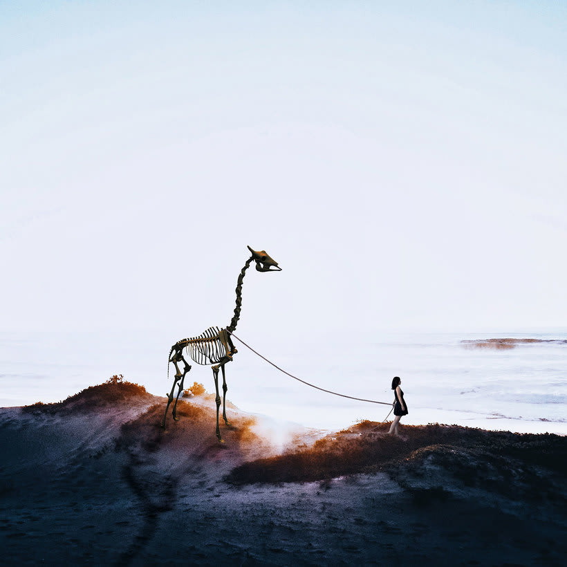 Karen Cantuq reinventa la naturaleza con sus collages fotorrealistas 1