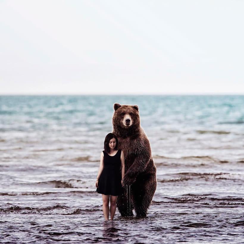 Karen Cantuq reinventa la naturaleza con sus collages fotorrealistas 10