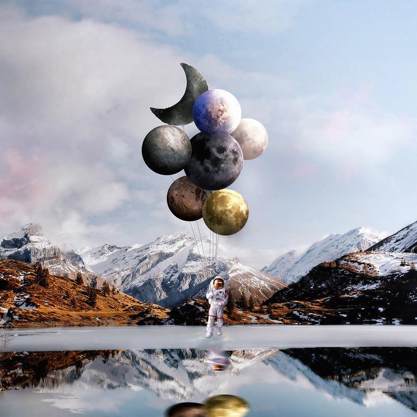 Karen Cantuq reinventa la naturaleza con sus collages fotorrealistas 14