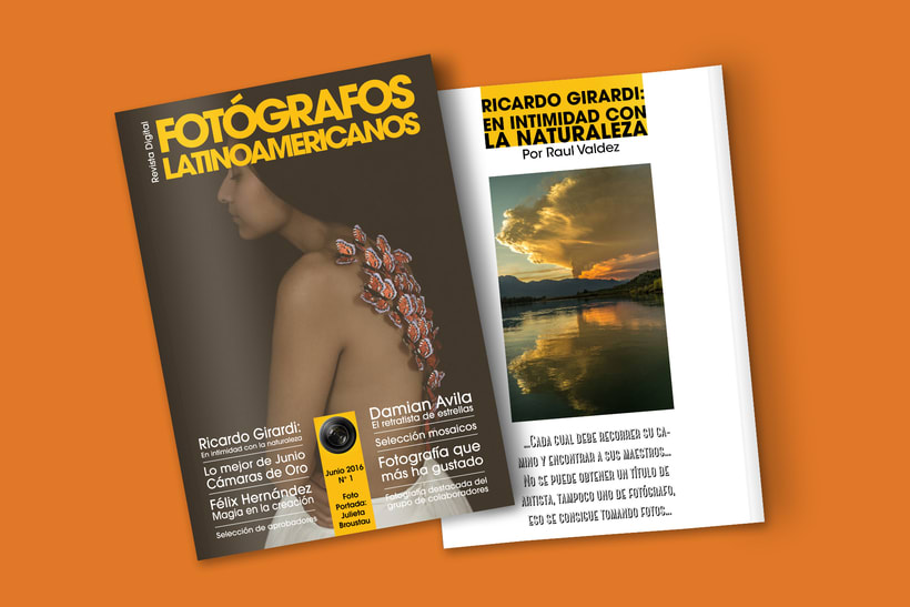 Editorial/Revista digital Fotógrafos Latinoamericanos  0