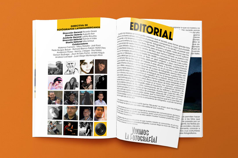Editorial/Revista digital Fotógrafos Latinoamericanos  3