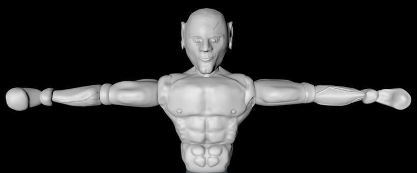The BOXER - Mi Proyecto del curso: Modelado de personajes en 3D 0