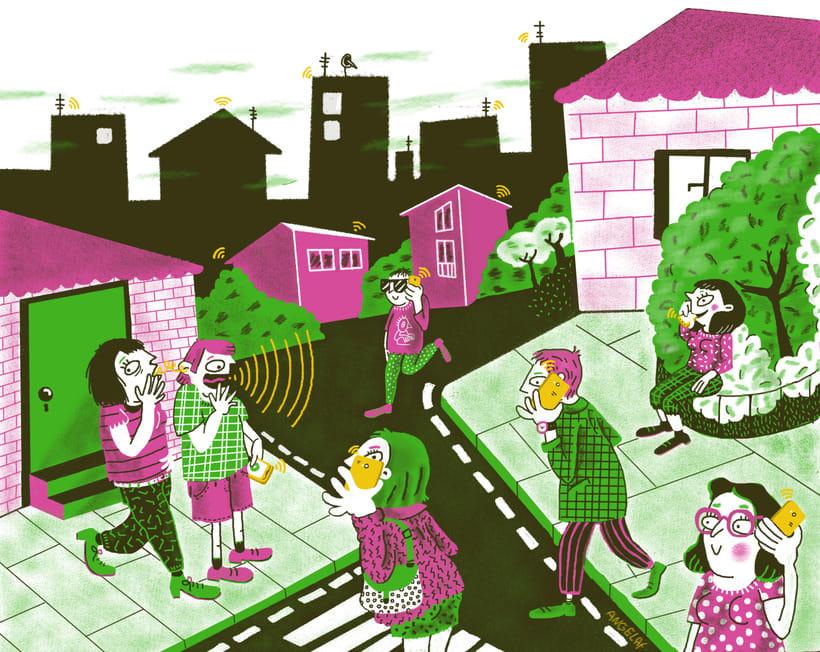 Ilustraciones. Trabajos digitales recientes. 0
