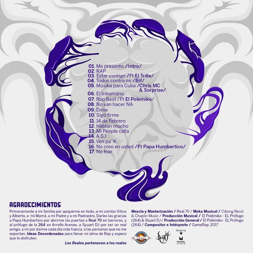 Cover CD Ideas Desordenadas. 0