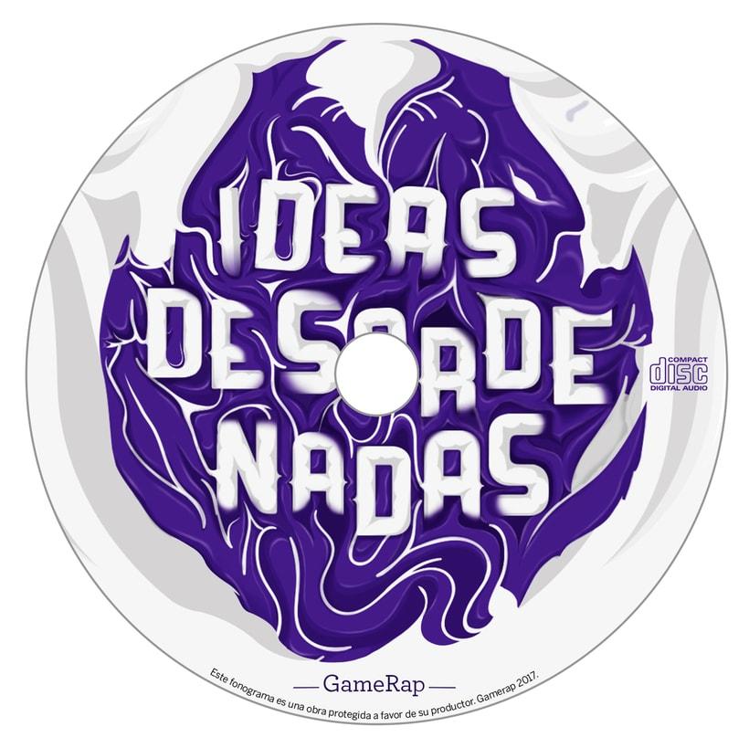 Cover CD Ideas Desordenadas. 1