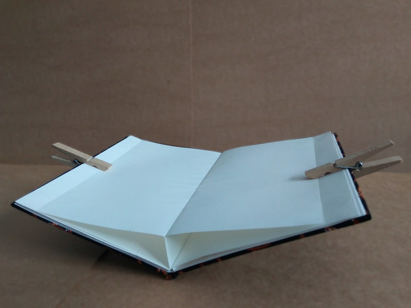 Cuadernos plegados para las mejores recetas de la familia. -1