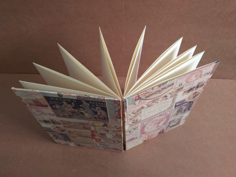 Cuadernos plegados para las mejores recetas de la familia. 1