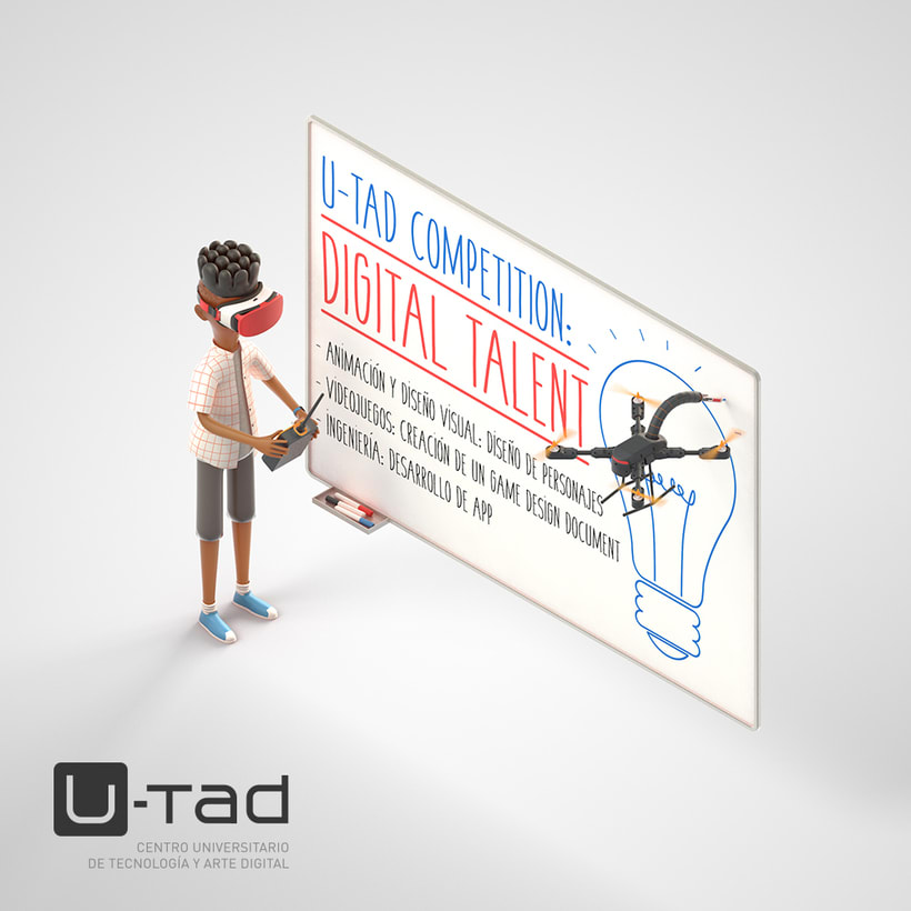 U-tad: Ilustración Digital talent 4
