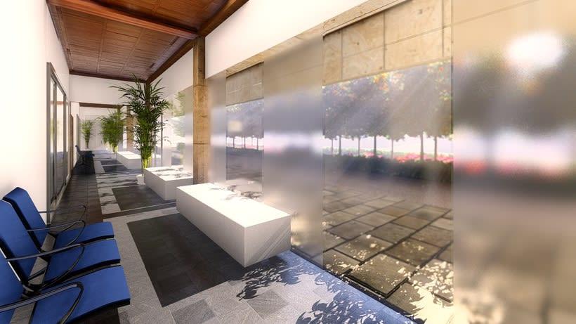 Sketches3D. Interiores. Proyecto para cementerio en Churriana de la Vega 1
