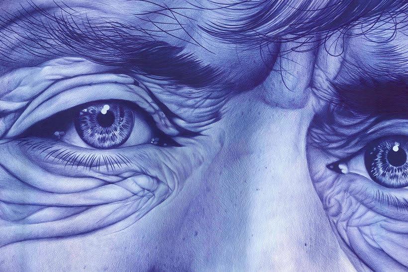 Chema Mora ilustra la vida con un bolígrafo de usar y tirar 1