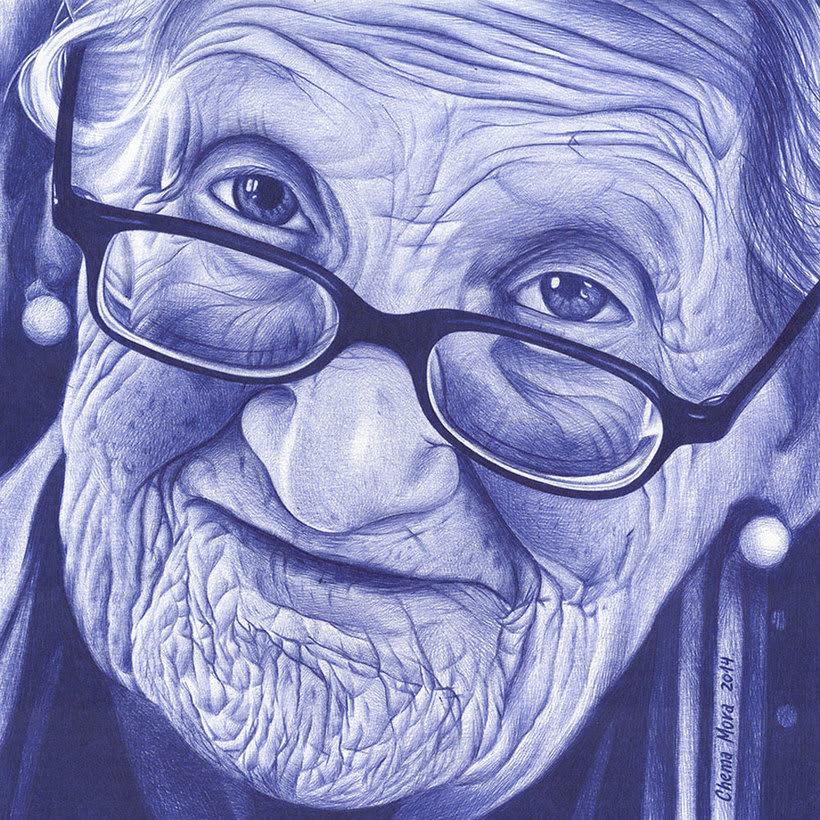 Chema Mora ilustra la vida con un bolígrafo de usar y tirar 7