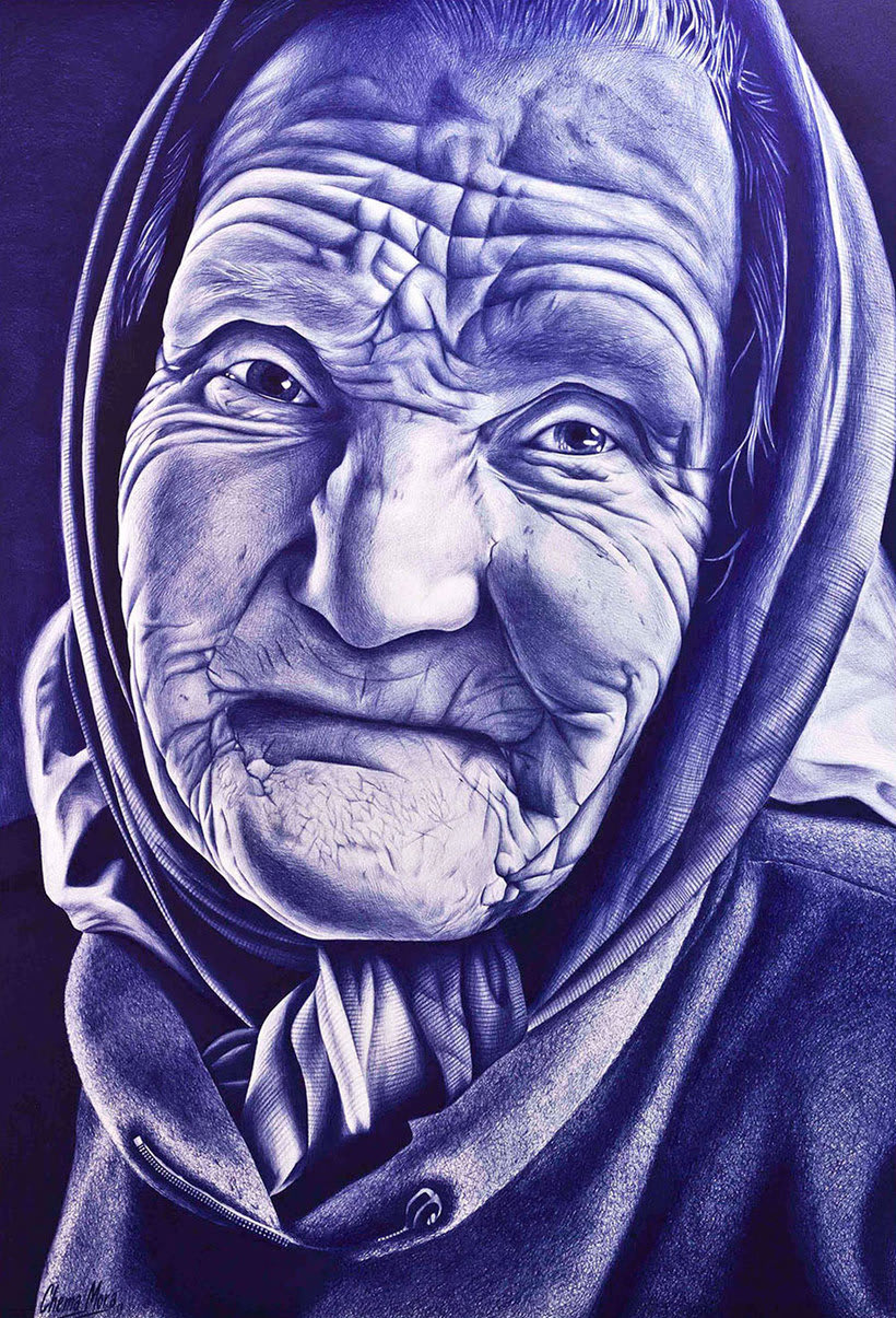 Chema Mora ilustra la vida con un bolígrafo de usar y tirar 9