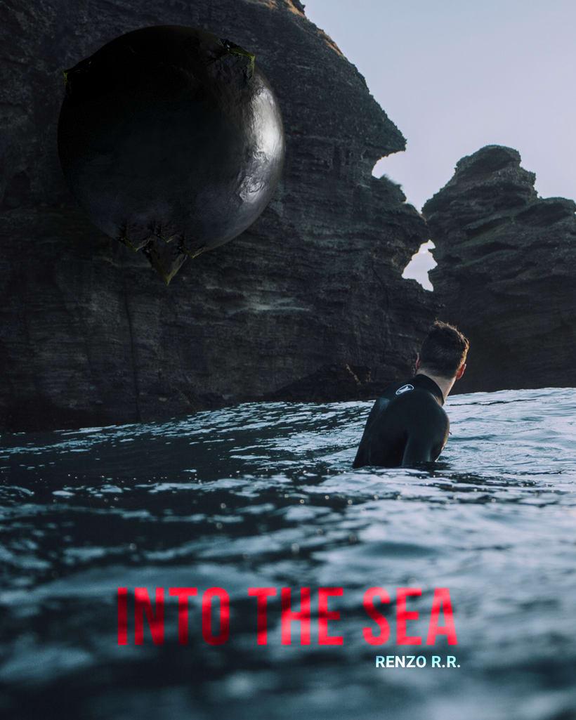 """Afiches 3D """"el viajero y las esferas""""  3"""