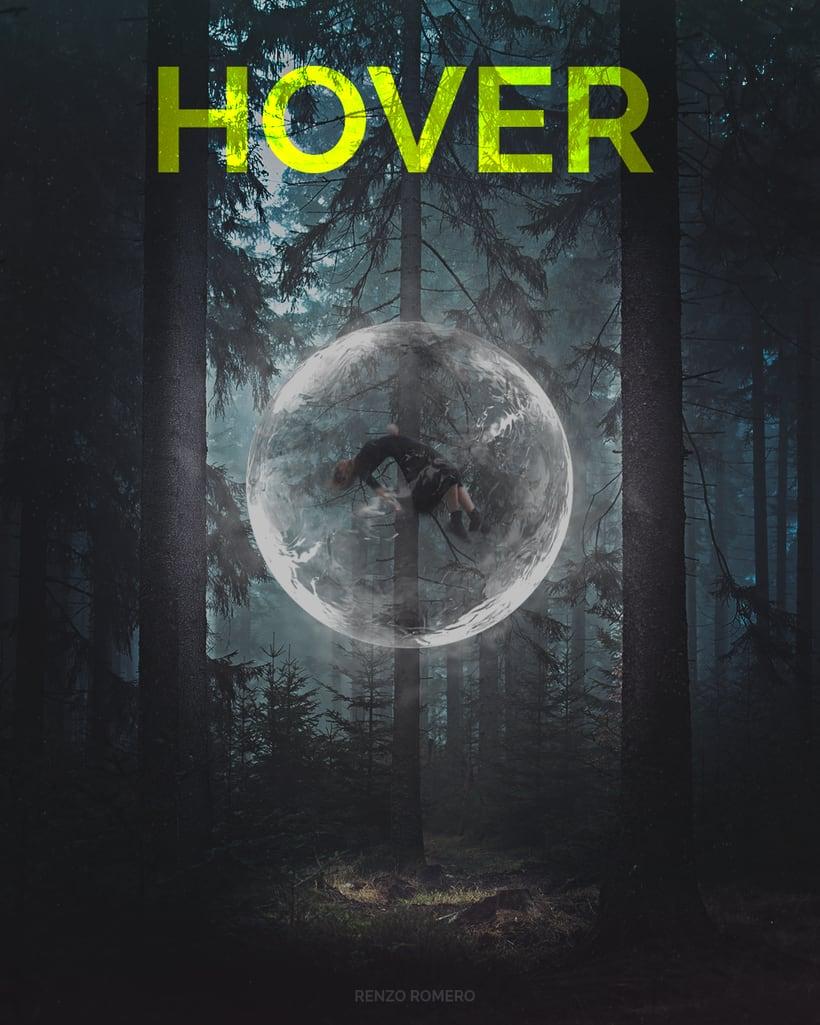 """Afiches 3D """"el viajero y las esferas""""  1"""
