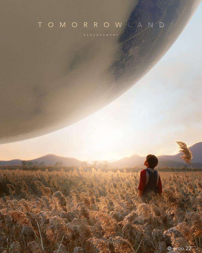 """Afiches 3D """"el viajero y las esferas""""  0"""