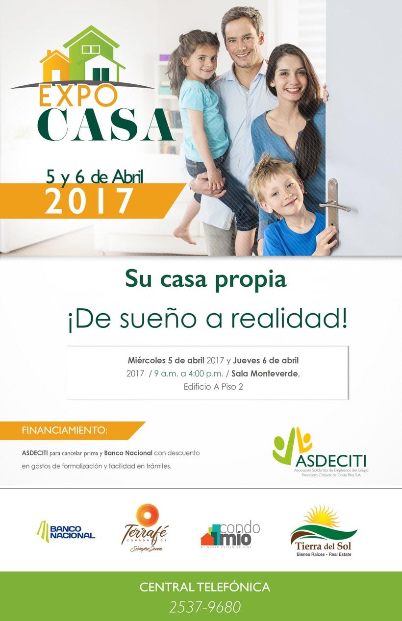 Afiche EXPOCASA.Copyright © Todos los Derechos Reservados -1