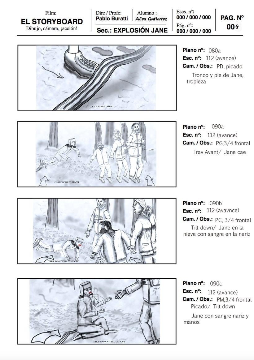 Mi Proyecto del curso: Ilustración de storyboards para Cine y Publicidad 0
