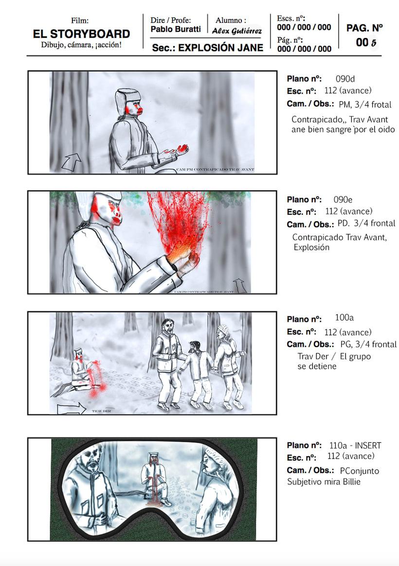Mi Proyecto del curso: Ilustración de storyboards para Cine y Publicidad 1